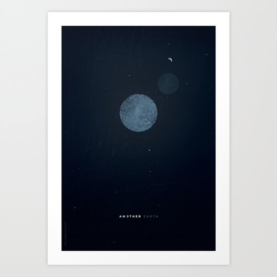 Another Earth alternative movie poster Art Print