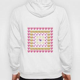 Emoji Hearts  Hoody