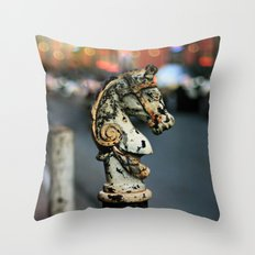 New Orleans Hitching Post #1 Throw Pillow