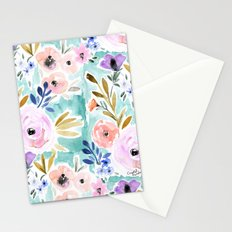 Willow Floral Stationery Cards