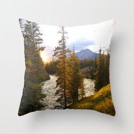 Sunset, Jasper  Throw Pillow