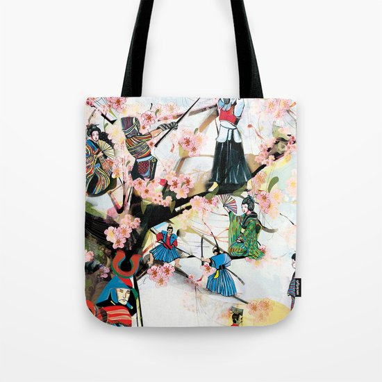 Japanese 2 Tote Bag