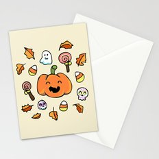 Halloween Doodles Stationery Cards
