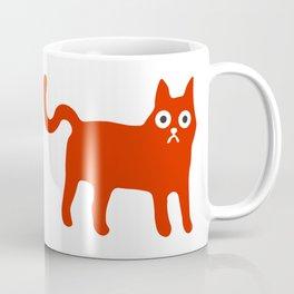 Little Red Cat Coffee Mug