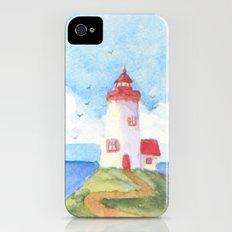 Peaceful Lighthouse iPhone (4, 4s) Slim Case
