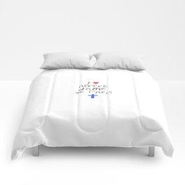 I love notre dame de Paris 3 Comforters