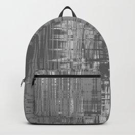 Grey Wavelengths Backpack
