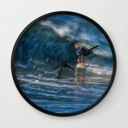 Time Slider Wall Clock