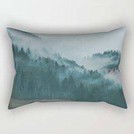 Swiss Fog VI Rectangular Pillow