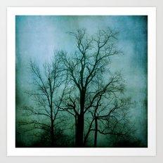 Into The Fog Art Print