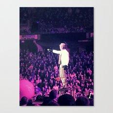 Concert Photo Canvas Print