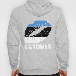EST Estonia Kiss Lips Shirt Hoody