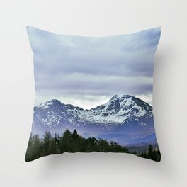 Highland 5 | Musical Crime Productions | Highland Photography Throw Pillow
