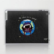 The World Is A Vampire Laptop & iPad Skin