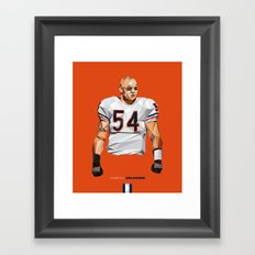 Geometric Urlacher Framed Art Print