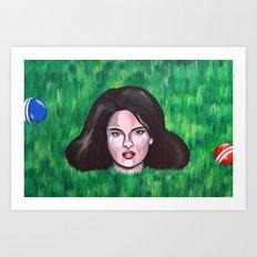 Heathers Art Print