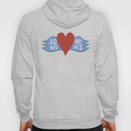Love Wins!  A Valentine to Love. Hoody