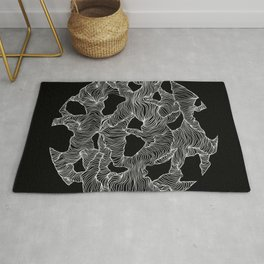 Inverted Reticulate Rug