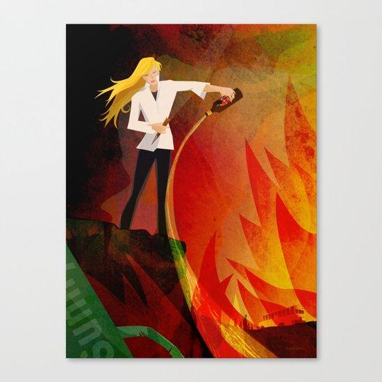 The Slayer Canvas Print