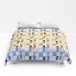 Sunny sky - Cuadricula Comforters