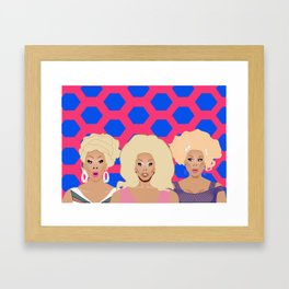 rujudges Framed Art Print