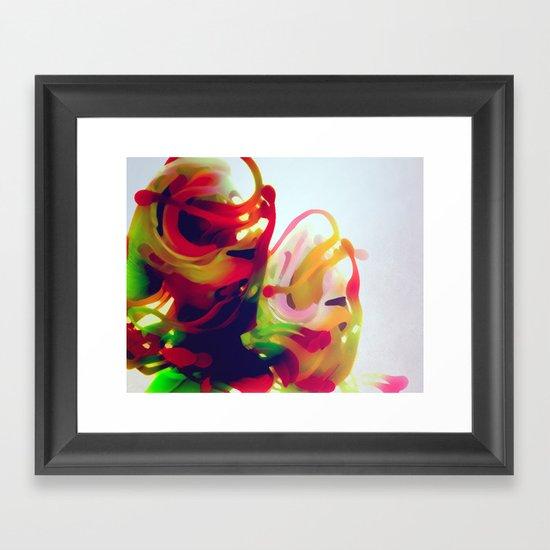 Orchids 01 Framed Art Print