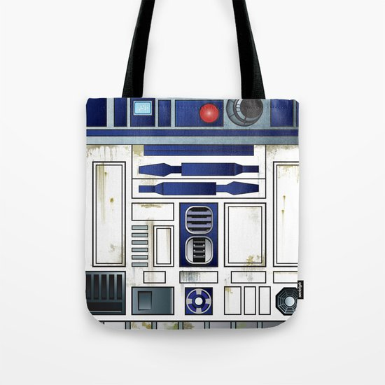 Plucky Droid Tote Bag