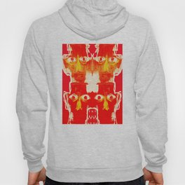 four heads and eight eyes Hoody