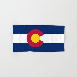 Colorado State Flag Hand & Bath Towel