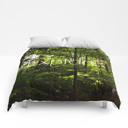 Forest // Silent In The Trees // Explore Comforters