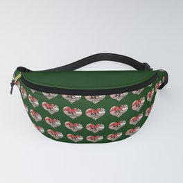 Heart Playing Card Shape - Las Vegas Icons Fanny Pack