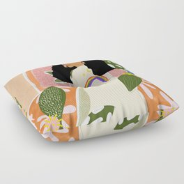 Rainbow Sweater Floor Pillow