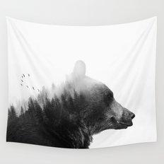 Big Bear Wall Tapestry