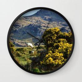 Mountain Sheep Wall Clock