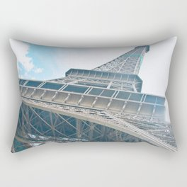 Eiffel Tower in Paris Rectangular Pillow