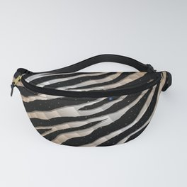 Ripped SpaceTime Stripes - Bronze/White Fanny Pack