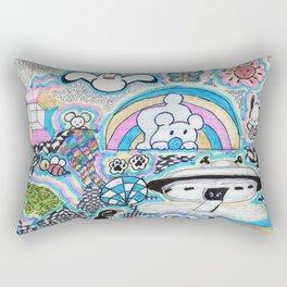 Doodle-tastic Rectangular Pillow