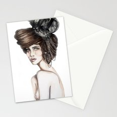 Queen of Diamonds // Fashion Illustration Stationery Cards