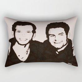 Klaus and Elijah Rectangular Pillow