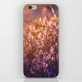 golden heather iPhone Skin