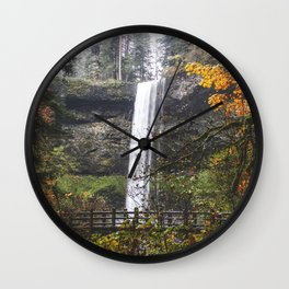 Fall Magic Wall Clock