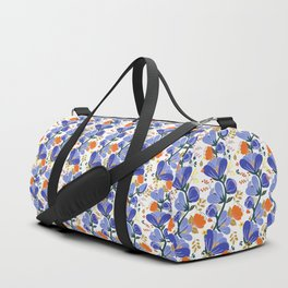 folk spring flowers no2 Duffle Bag