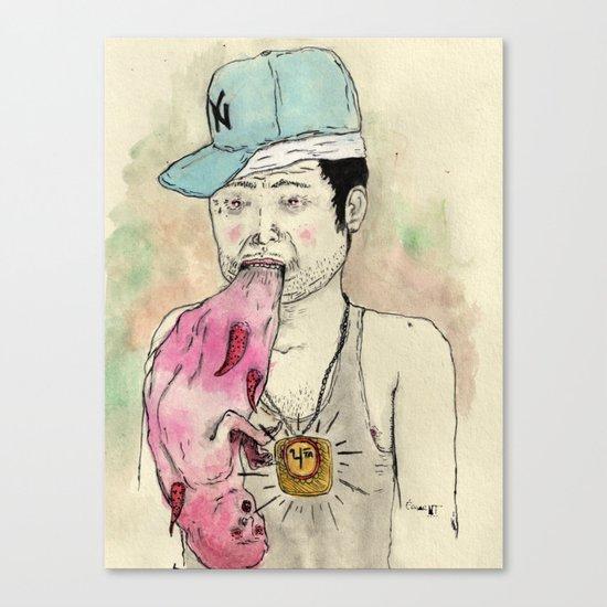 Reggaetongue Canvas Print