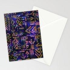 Tapa Tribal Aura Stationery Cards