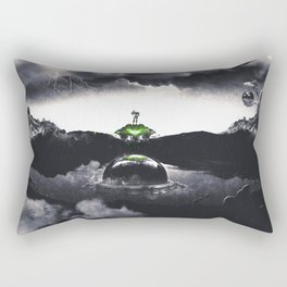 The Landing A Zebes Surrealism Rectangular Pillow