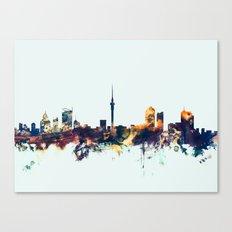 Auckland New Zealand Skyline Canvas Print