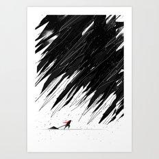 Geometric Storm Art Print