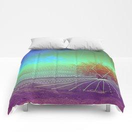 HIDDEN LAKE Comforters