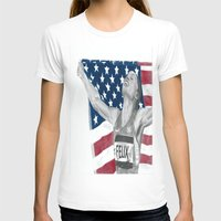 allyson johnson T-shirts featuring Allyson Felix by Moira Sweeney