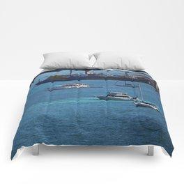 Bahamas Cruise Series 112 Comforters